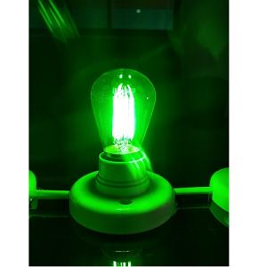 12V 24V E27 LED lamp Groen licht, Groene LED Verlichting LED Lampen