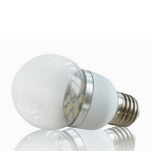 24Volt E27 LED Lamp G50-12smd dimmen