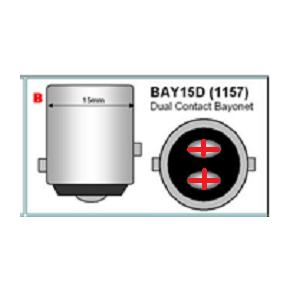 BaY15D Bayonet LED