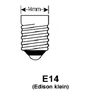 E14 Lamp fitting odf led lampen lichtbronnen 14mm lampfitting