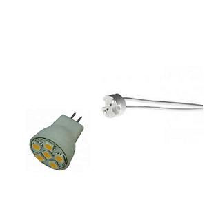 MR8 lampfitting voor MR8 25mm lampje, priklampje, steeklampj
