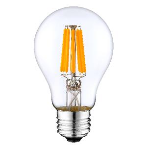 ODF 12volt 24volt LED lamp E27 G60 Filament led Dimmen 6watt clear helder glas 2700Kelvin