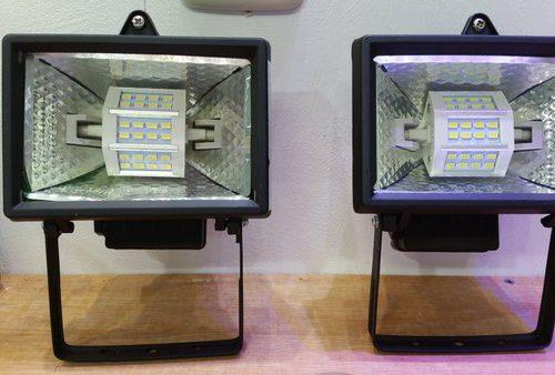 R7S LED lamp 78mm 5Watt ww 55x78mm AC85-265V