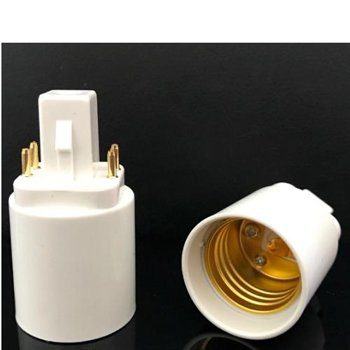 G24Q 4 pins long neck to E27 ODF LED Light the Netherlands